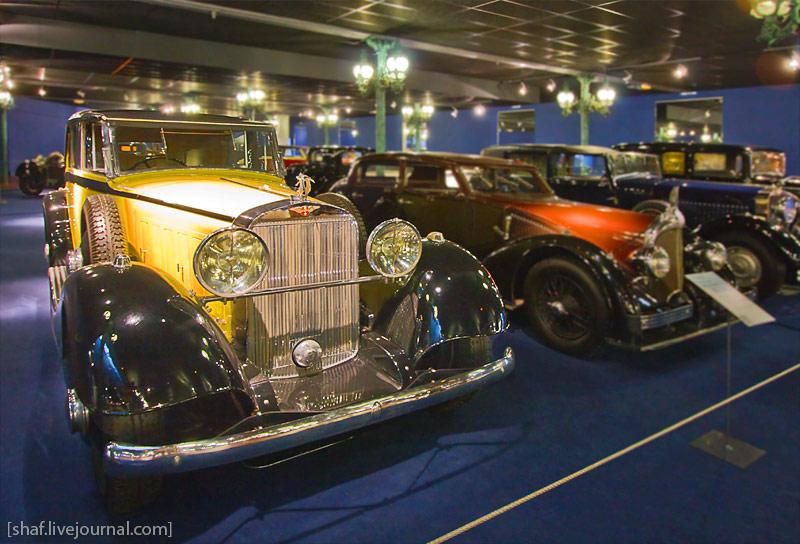 Автомузей; Национальный музей автомобилей, Мюлуз (Mulhouse), Франция; Hispano-Suiza, Coupe Chauffeur J12, 1932