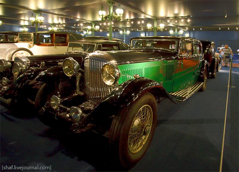 Автомузей; Национальный музей автомобилей, Мюлуз (Mulhouse), Франция; Bentley, Berline 8 Litres, 1931