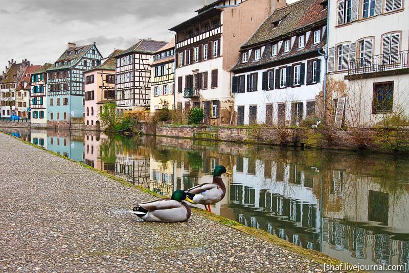 "Франция, Страсбург, квартал ""Маленькая Франция"""