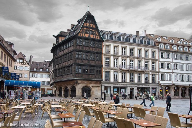 Франция, Страсбург, дом Каммерцеля