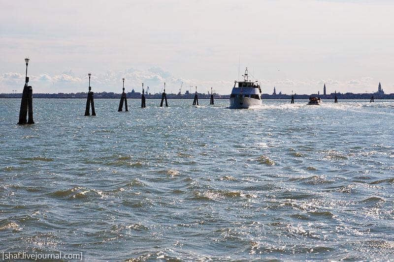 Италия, Венеция, сулоходный форватер | Venezia, Italy | Benatky, Italie