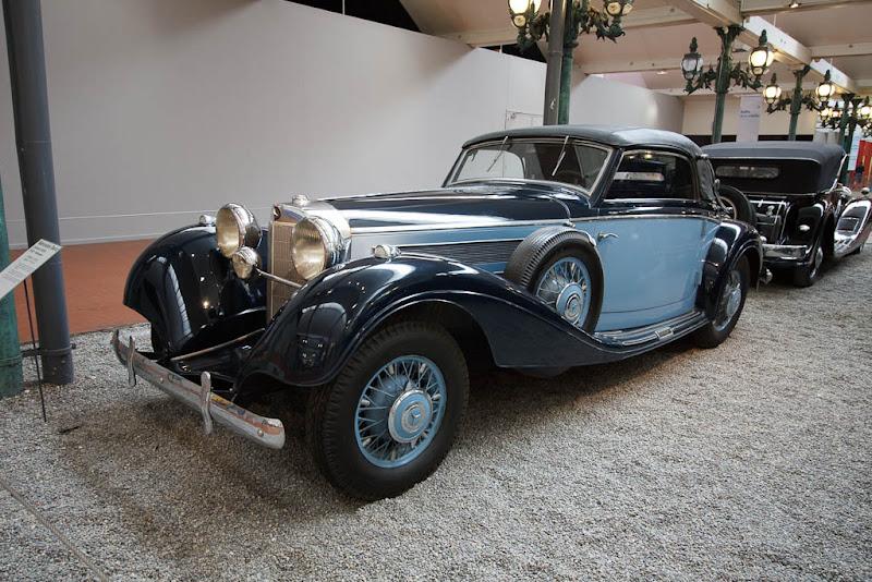 Автомузей; Национальный музей автомобилей, Мюлуз (Mulhouse), Франция; Mercedes-Benz, Cabriolet 540K