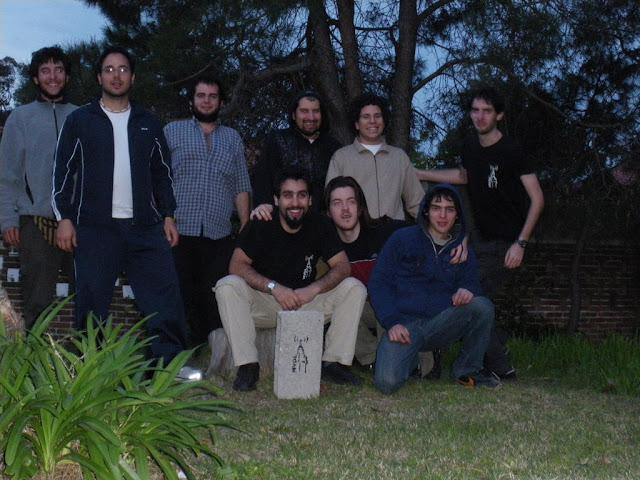 La gente de Montevideo Libre que nos juntamos