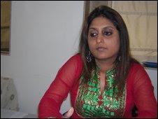 A psicóloga Rhea Timbekar, de Mumbai