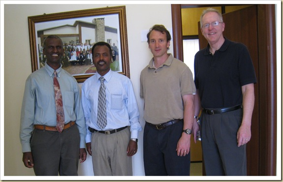 Ethiopia Graduate School Theology leaders