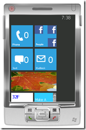 Windows Phone 7 Homescreen for Windows Mobile 6.5.x