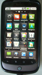 Samsung TouchWiz Launcher for Nexus One