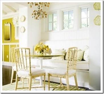 beadboard,built,in,cushion,dining,room,nook,table,trim,wainscoting,white,window,yellow-c36f75e4f7bb334bb59bcdec7f15a231_m