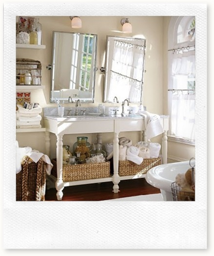 potterybarn farmhouse bath