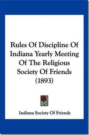 Indiana Yearly Meeting Faith and Practice