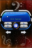 Screenshot of Electronica ringtones