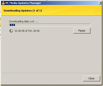 proses download update-an pcmav 2.0
