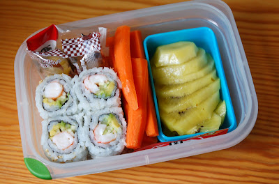 Airplane Bento - July 30, 2009