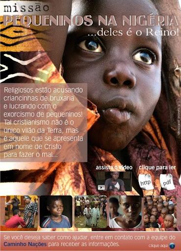 crianças nigéria pastores evangélicos