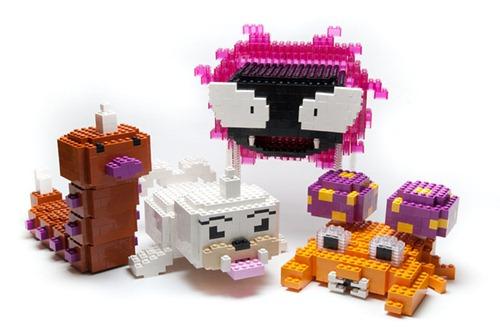 Pokemon em Lego