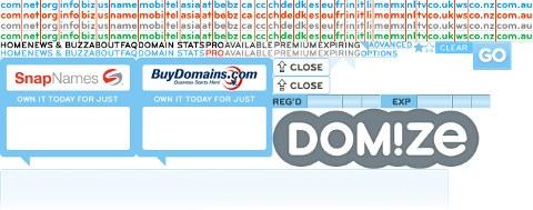 Domize, besplatni brzi web servis za traženje domena