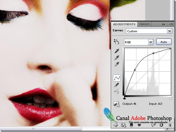 Desenho a lapis estilo retro no Photoshop 06