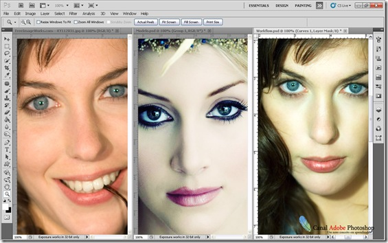 Imagens lado a lado no Photoshop 0005