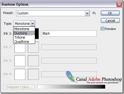 Como criar o efeito duotone no Photoshop 0002