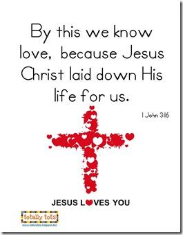 Valentines Day 1 John 3