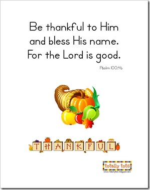 Thanksgiving Psalm 100