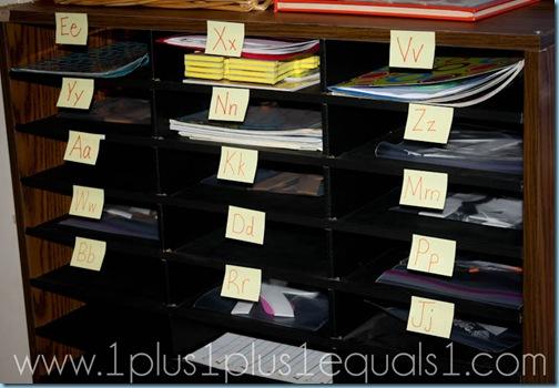 Organizing Preschool Units
