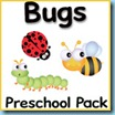 Bugs Preschool Pack