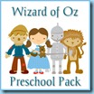 Wizard of Oz Preschool Pack Button