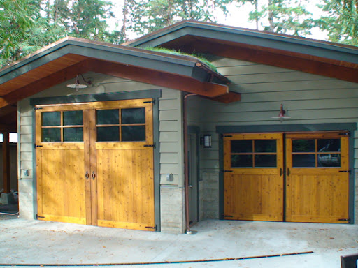 How to build lightweight insulated carriage doors by for Build carriage garage doors