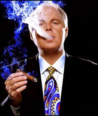 Boss Limbaugh blows smoke