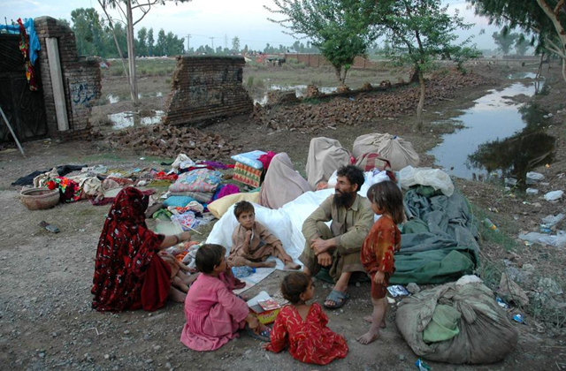 Internally displaced people in Pakistan. The flood-affected people are still living in miserable conditions and more assistance is needed to rehabilitate them, according to the Sindh chief minister, 9 January 2010. via jumpermoss.free5hosting.info