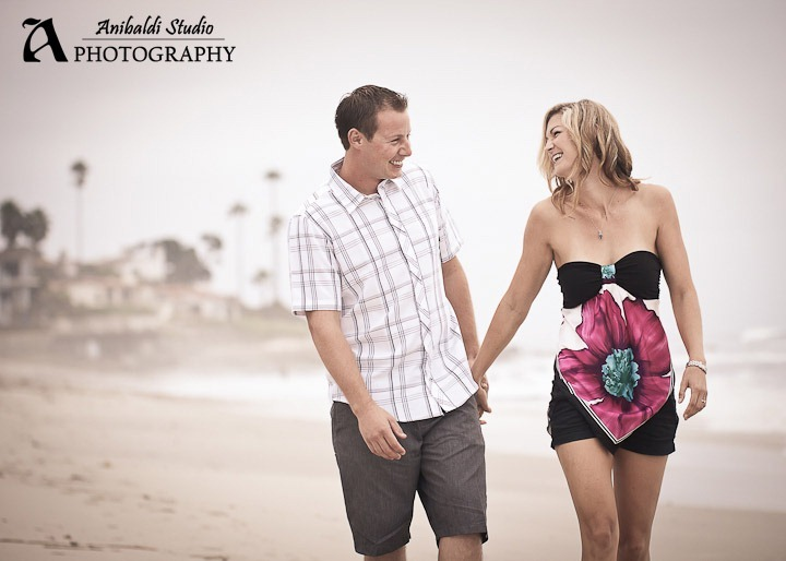 san diego engagement photo