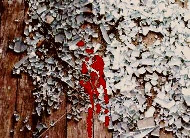 broken-glass and blooda