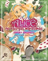 Alice no país das maravilhas - Sakura Kinoshita - Mangá Newpop