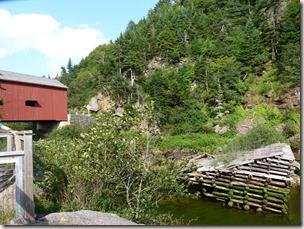 P1010165 parc national de Fundy pointe wolfe ancienne scierie et barage