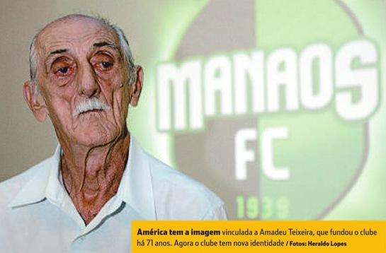 Amadeu Teixeira América Manaos Manaós Futebol Clube Campeonato Brasileiro Série D Quarta Divisão 4a div Mequinha Diabo mascote concurso Marketing Esportivo MKT