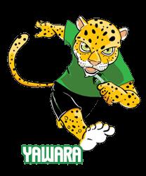 A onça Yawara, escolhida como novo mascote pelos internautas, entrou em extinção antes mesmo de entrar em campo.