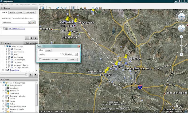 Usar Google Earth