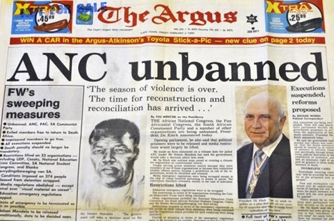 ANC unbanned