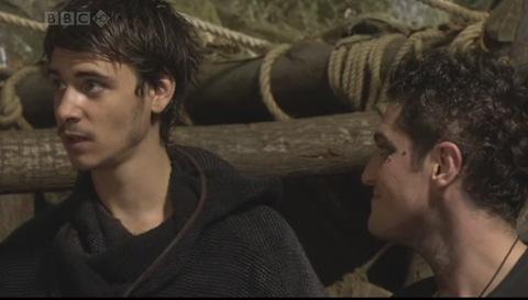 Robin Hood: Lardner's Ring (Harry Lloyd as Will Scarlett and Mathew Horne as The Fool)