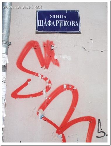 Ulica Šafarikova