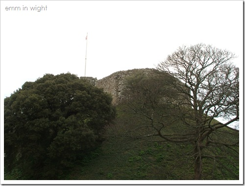 The motte and keep at Carisbrooke Castle