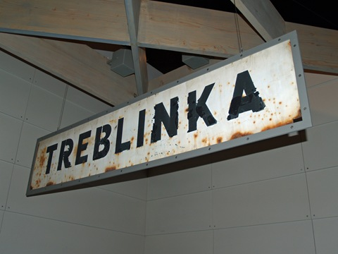 Treblinka Concentration Camp Sign