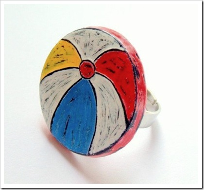 Beach Ball Ring