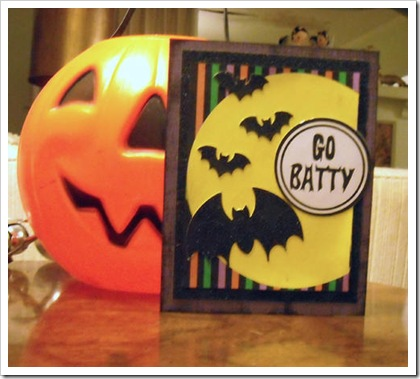 Go Batty Card