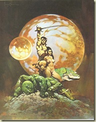 Frank Frazetta John Carter of Mars 01