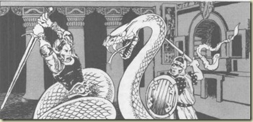 snake - Dwellers of the Forbidden City, Jim Roslof