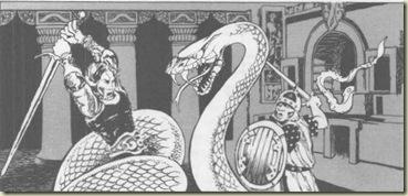 snake - Dwellers of the Forbidden City, Jim Roslof