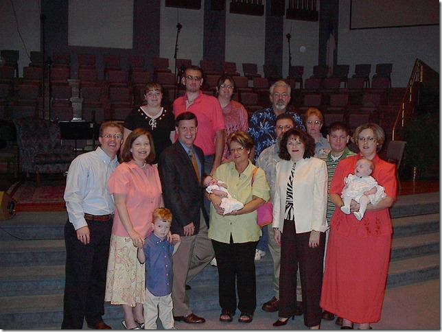 Baby Dedication 2005