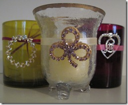Holiday Candles Craft